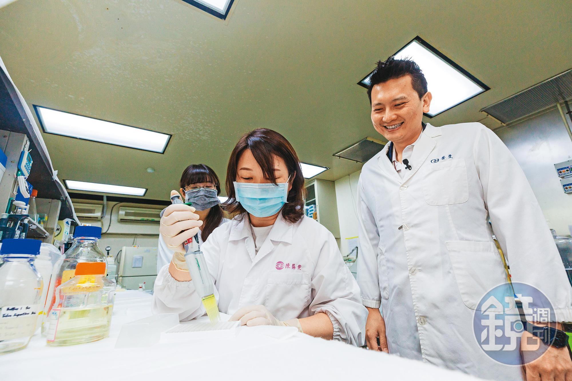 普生以B肝檢測起家,成為宣明智布局新冠檢測的一環。